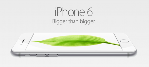 iPhone6 bigger than bigger